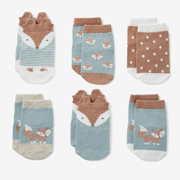 Fox Sock Set by Baby Needs