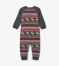 Fair Isle Moose Sweater Romper