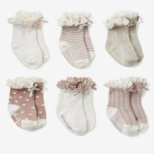 Pink Fancy Sock Set by Baby Needs