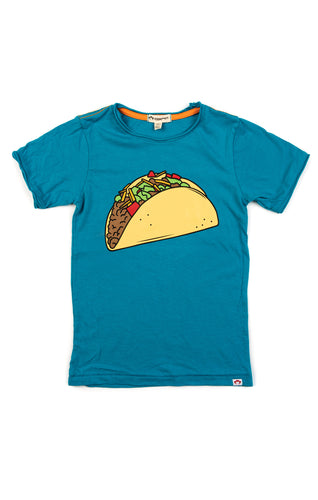 Taco Tuesday Tee In Caribbean by Appaman