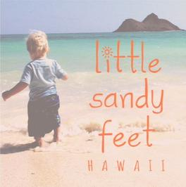 Little Sandy Feet Footprint Kit