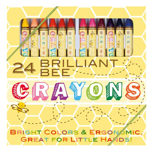 Brillant Bee Crayons 24 Crayon Set
