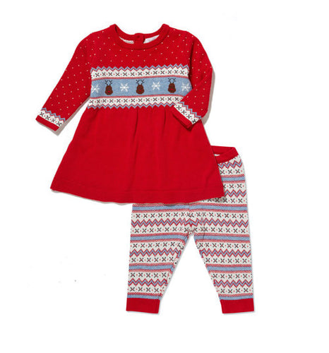 Reindeer Tunic & Legging Set by Angel Dear