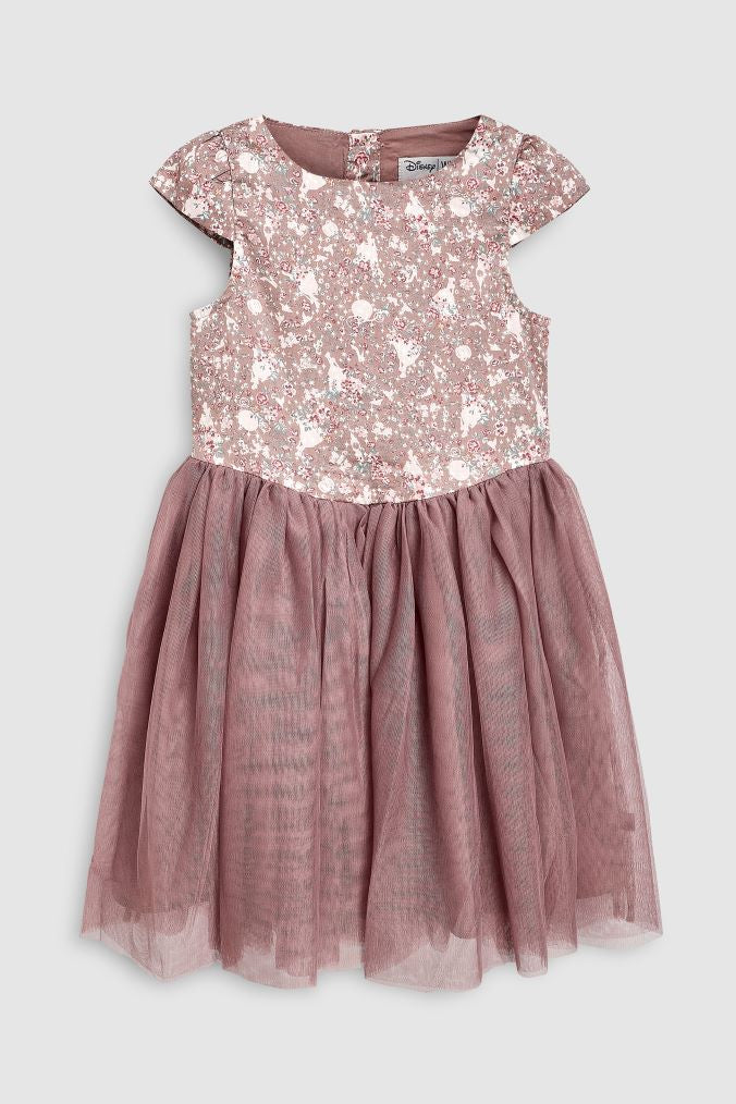 Cinderella Dress In Dusty Rose