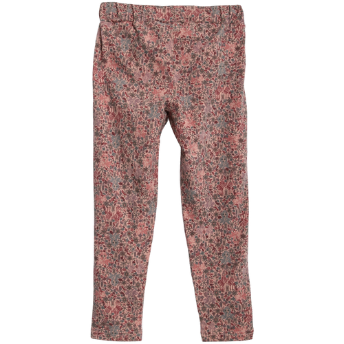 Wheat Frozen II Print Soft Pants