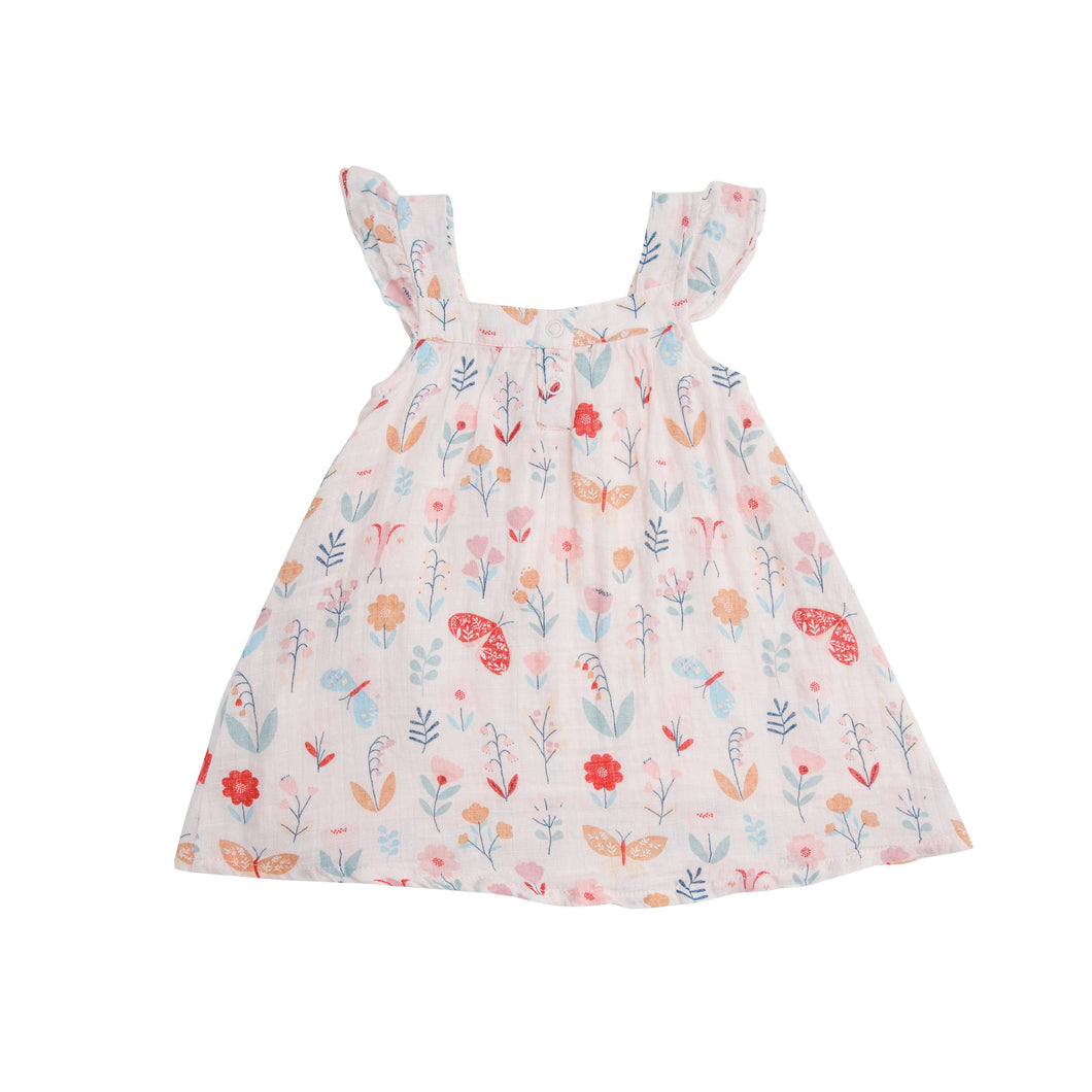 Angel Dear Muslin Sundress & Diaper Cover Spring 2021