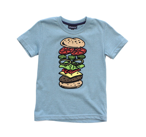 Short Sleeve Hamburger Tee