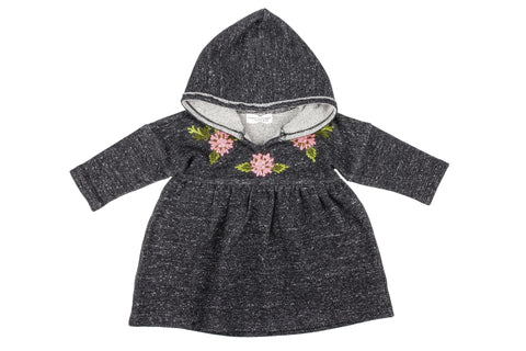 Embroidered Hoodie Knit Dress & Leggings by Mimi & Maggie