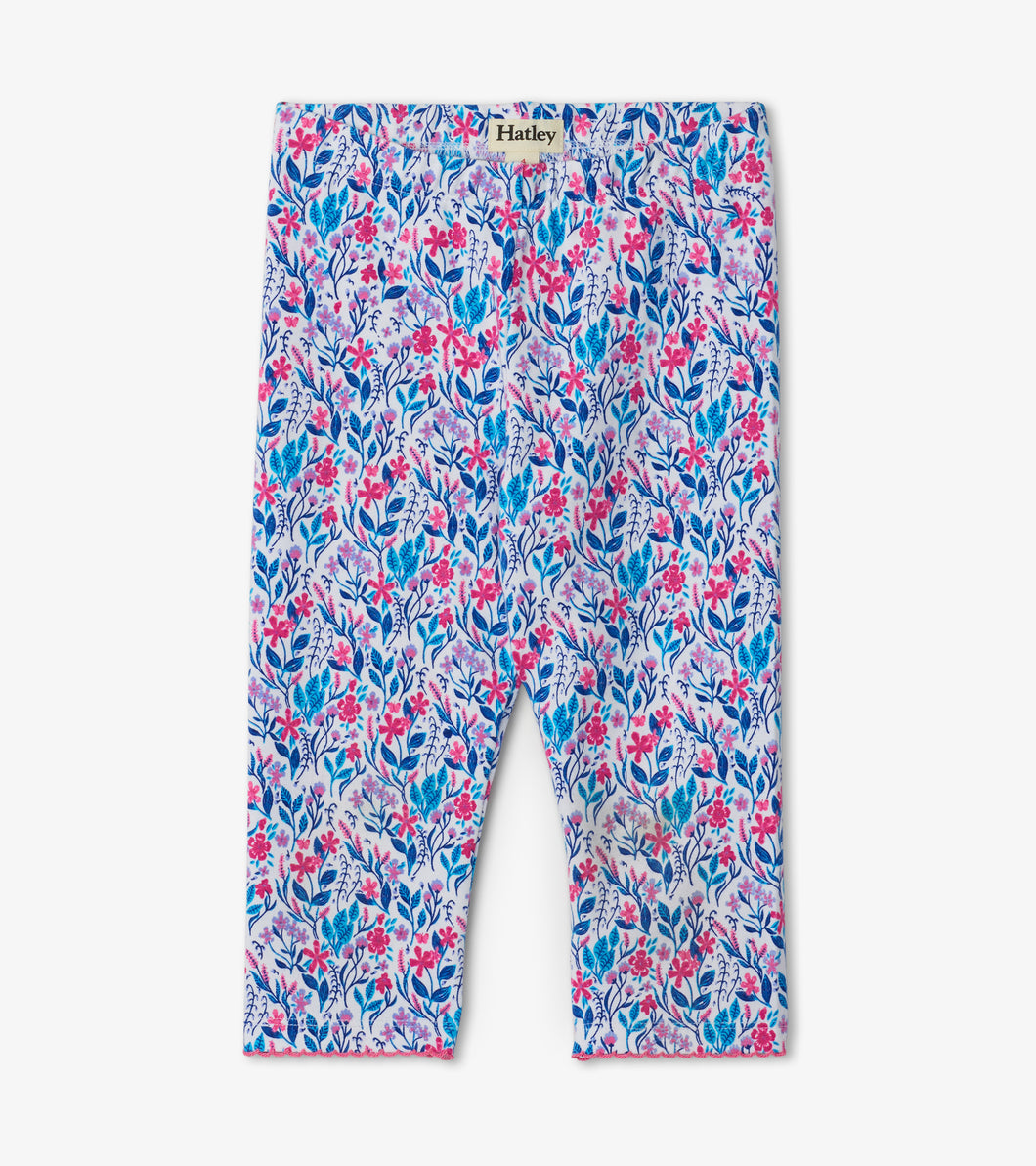 Hatley Spring Wildflowers Capri Leggings