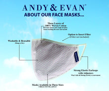 Youth Face Masks By Andy & Evan (7-12 Years)
