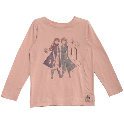 Frozen II Anna & Elsa Shirt In Misty Rose