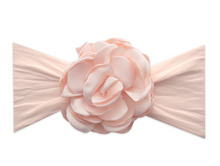 Silk Ruffle Flower Headband by Baby Bling