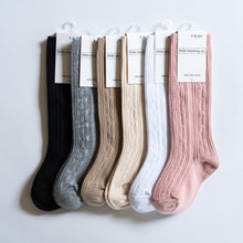 Cable Knit Knee High Socks by The Little Stocking Company