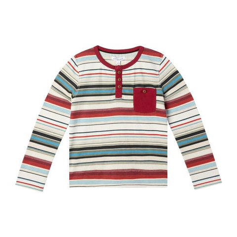 Stripe Carter Shirt by Art & Eden