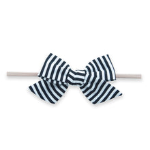 Big Cotton Bow Skinny Headband by Baby Bling Fall '20