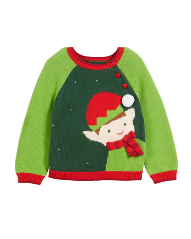 Boy Elf Sweater by Zubels