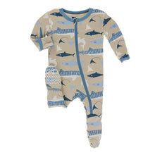 Kickee Pants Oceanography Footies