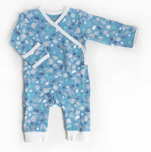 Blue Whale Organic Cotton Baby Romper
