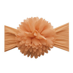 Chiffon Carnation Flower Headband by Baby Bling