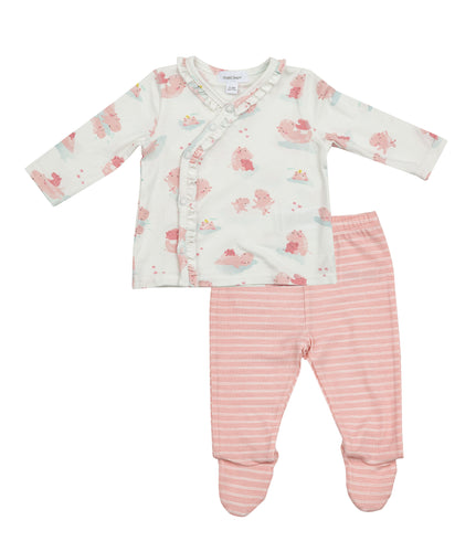 Hippo Pink Take Me Home Set by Angel Dear