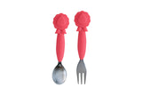 Lion Fork & Spoon Set