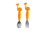Giraffe Fork & Spoon Set