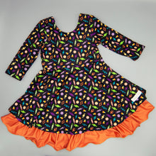 Halloween Harvest Reversible Dress by Evie's Closet
