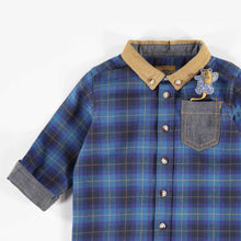 Flannel Checkered Shirt by Souris Mini