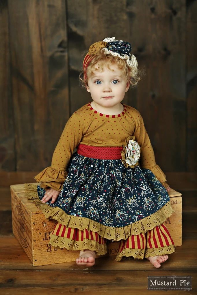 Olivia Dress Set Woodland Magic