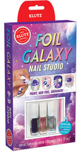 Foil Galaxy Nail Studio by Klutz