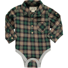 Plaid Woven Onesie by Me & Henry