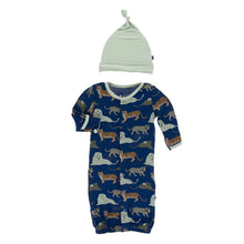 Zoology  Converter Gown Set by Kickee Pants