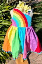Rainbows Dress by Cotton Kids - LAST CHANCE LISTING!