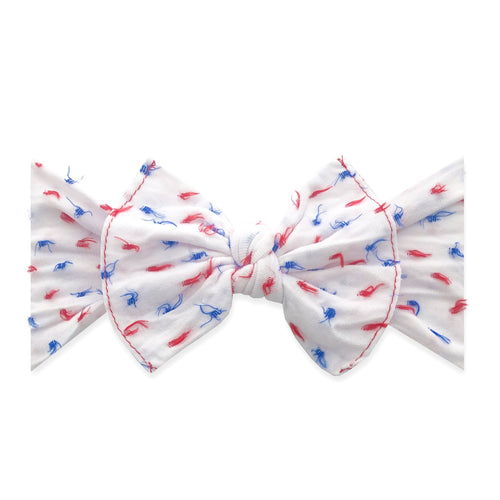USA Clipped Knot Dot By Baby Bling NEW