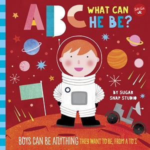 Abc For Me: What Can He Be?