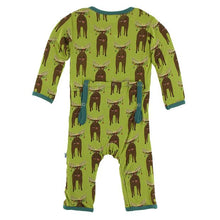 Meadow Bad Moose Coverall by Kickee Pants