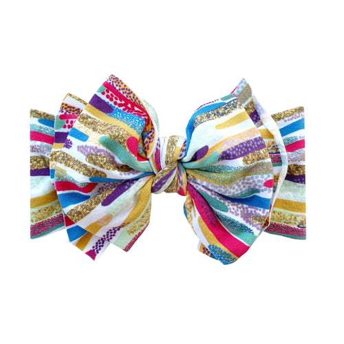 Printed Fab-Bow-Lous (FAB) Headband by Baby Bling Fall '20- PREORDER