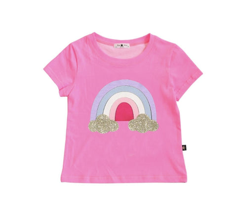Rainbow Tee By Petite Hailey