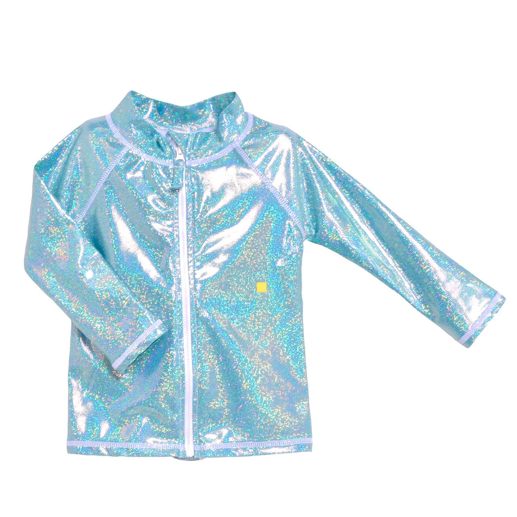 Flap Happy Zip Front Rashguard