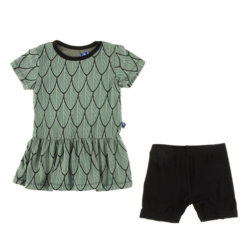 Zoology Playtime Outfit by Kickee Pants