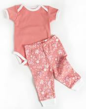 Pink Bunny Organic Cotton Bodysuit & Legging Set
