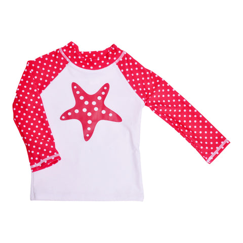 UPF 50+ Rash Guard Starfish