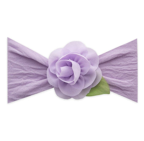 Small Rosette Leaf Headband by Baby Bling