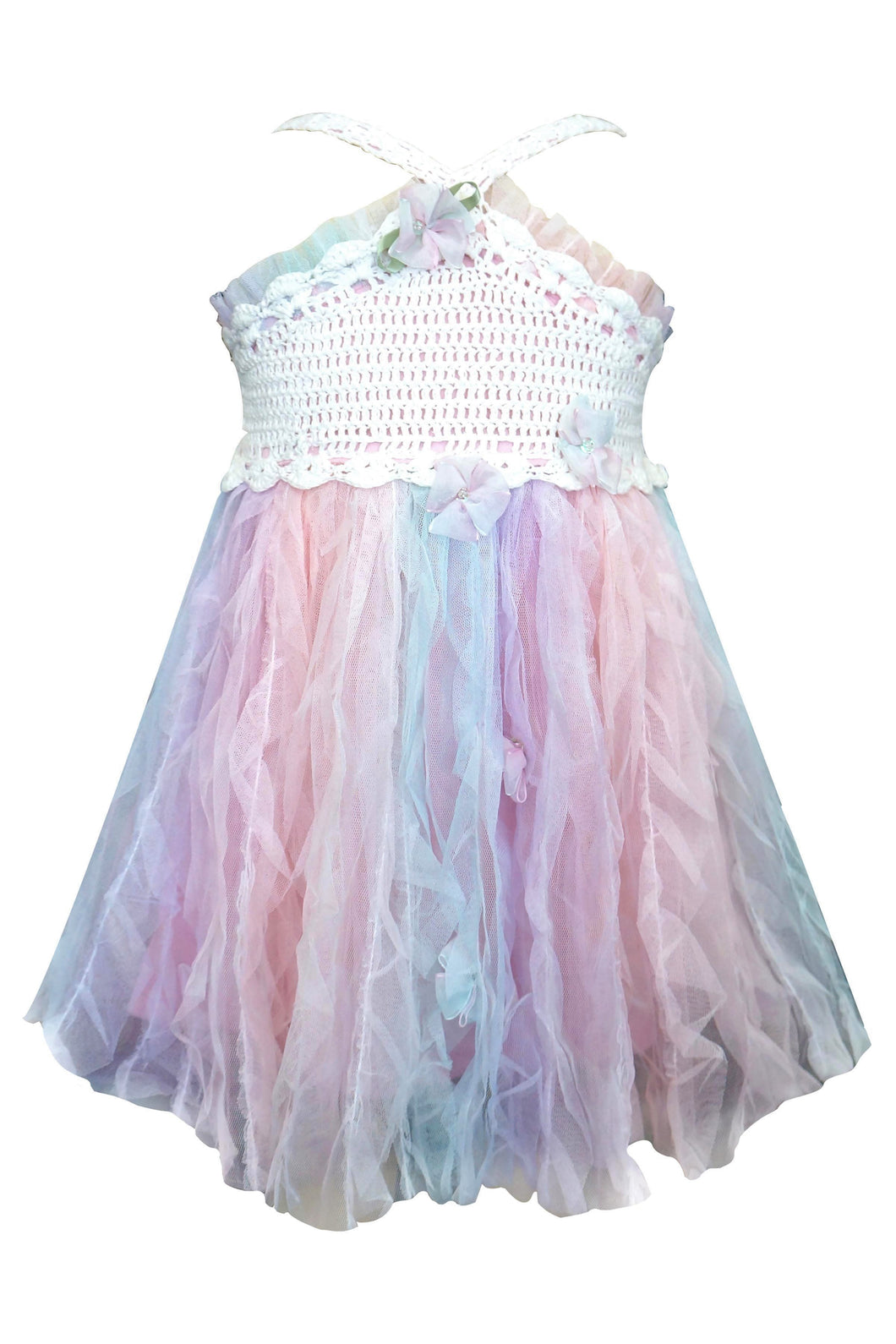 Crochet Pastel Princess Dress