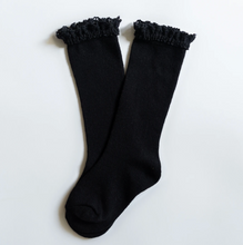Lace Top Knee Hgh Socks by The Little Stocking Company