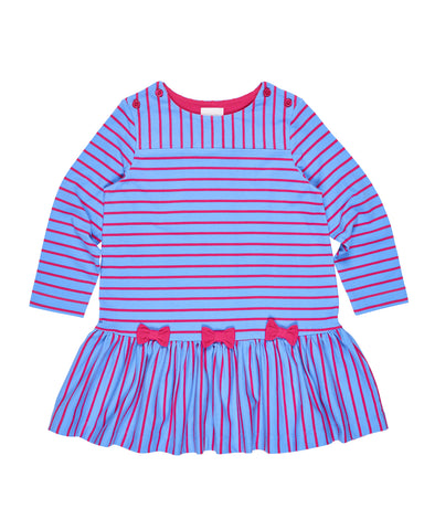 Stripe Low Waist Dress