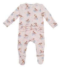 Woodland Deer Ruffle Footie by Angel Dear