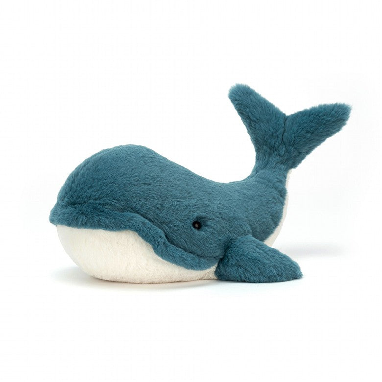 Wally Whale Small by Jellycat
