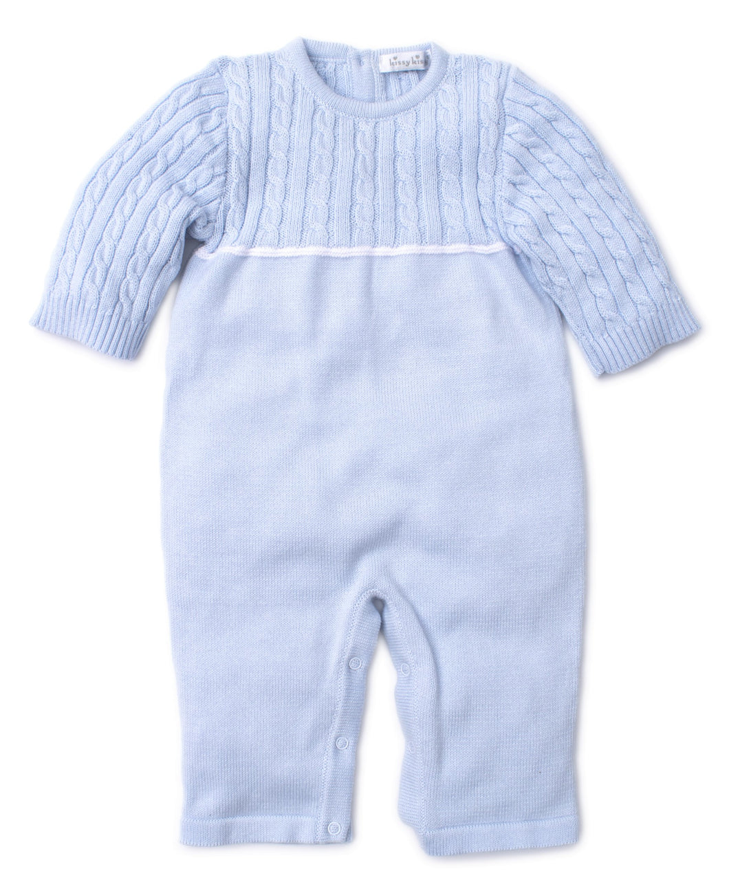Cozy Cable Knit Playsuit