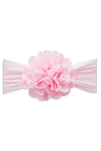 Eyelet Flower Headband by Baby Bling